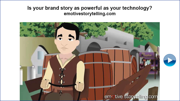 Is your brand story as powerful as your technology?